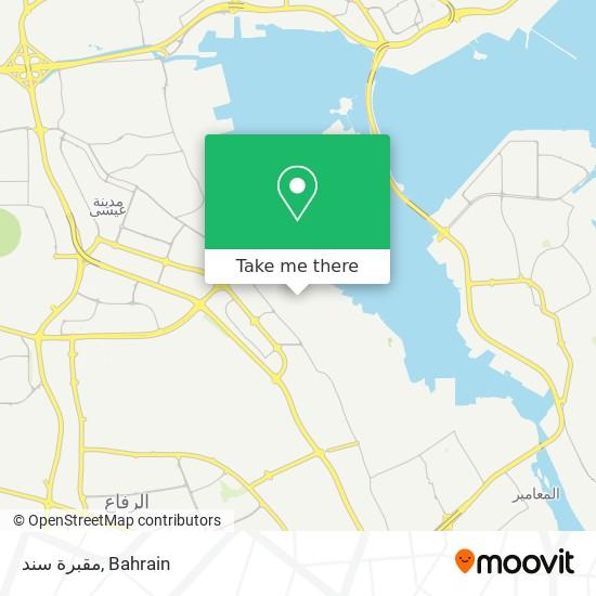 مقبرة سند map