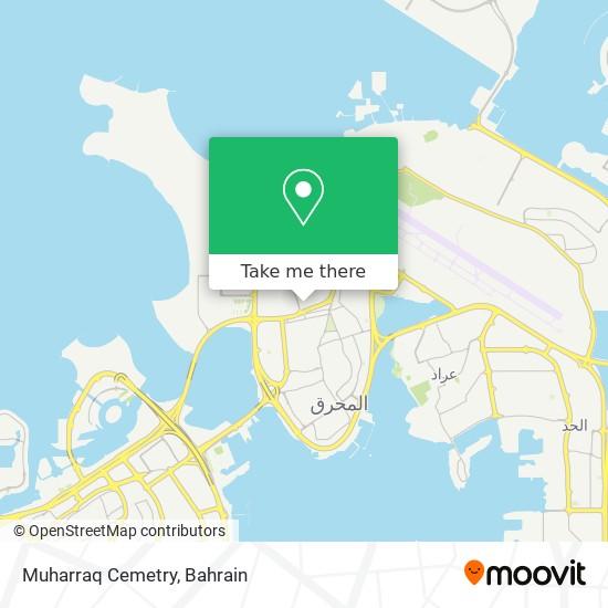 Muharraq Cemetry map