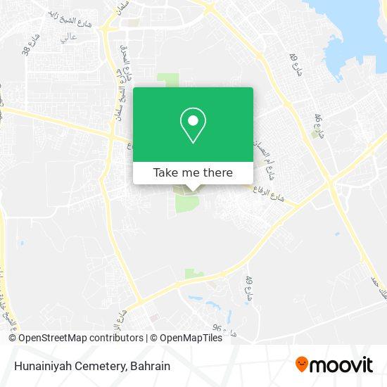 Hunainiyah Cemetery map