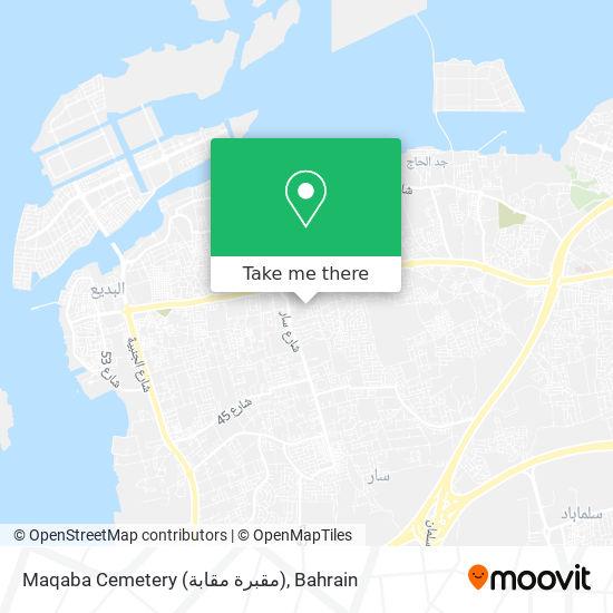 Maqaba Cemetery (مقبرة مقابة) map