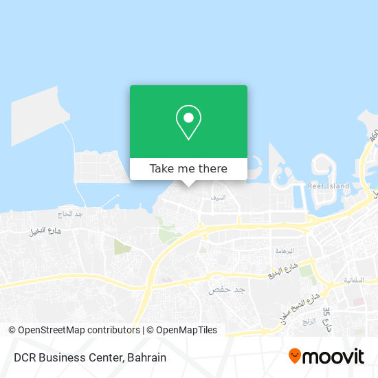 DCR Business Center map