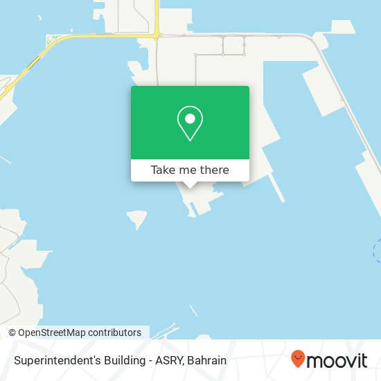 Superintendent's Building - ASRY map