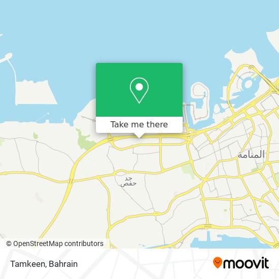 Tamkeen map