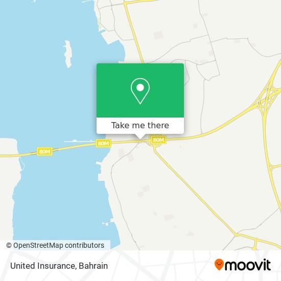 United Insurance map