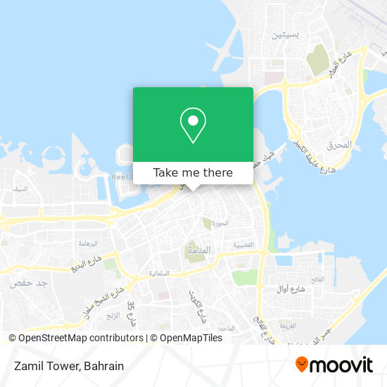 Zamil Tower map