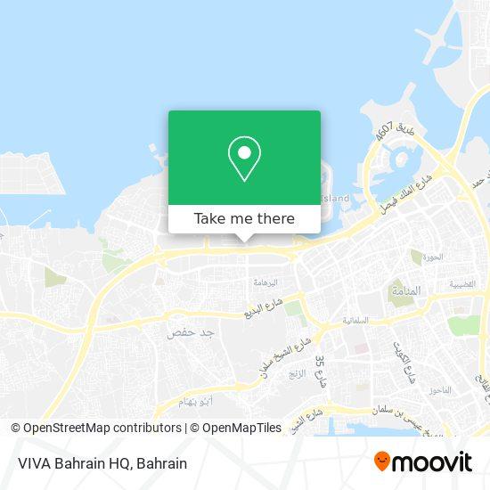 VIVA Bahrain HQ map