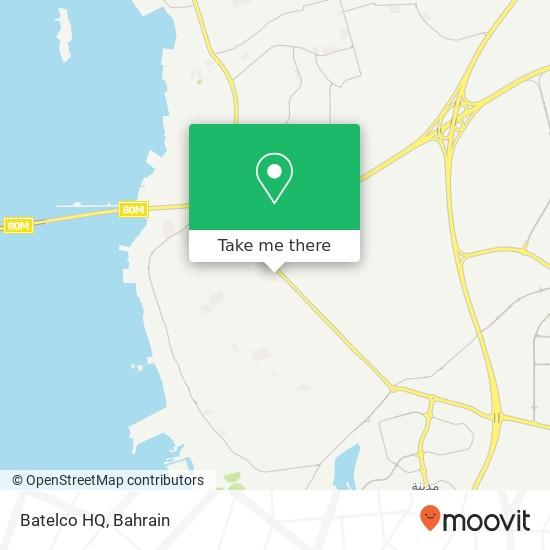 Batelco HQ map