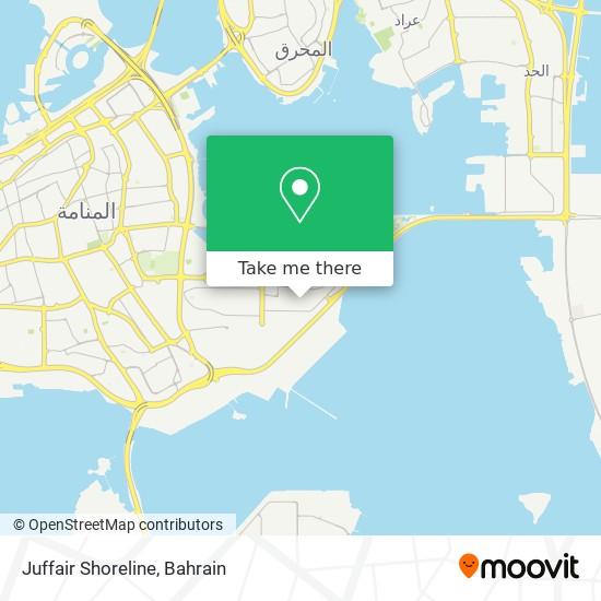 Juffair Shoreline map