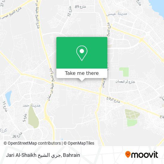 Jari Al-Shaikh جري الشيخ map
