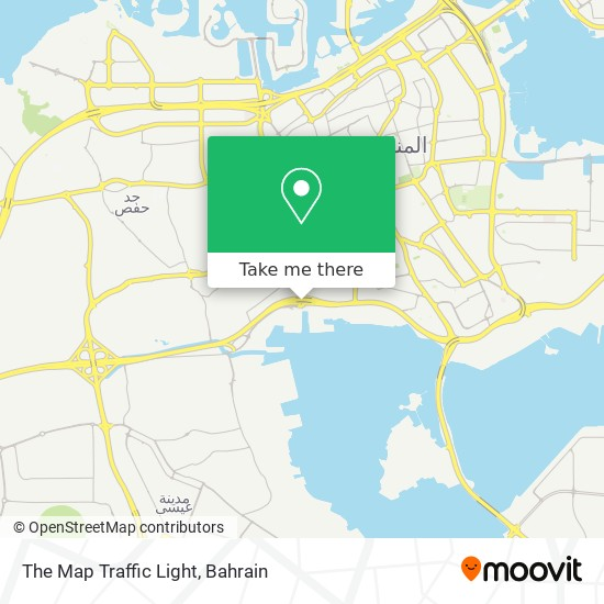 The Map Traffic Light map