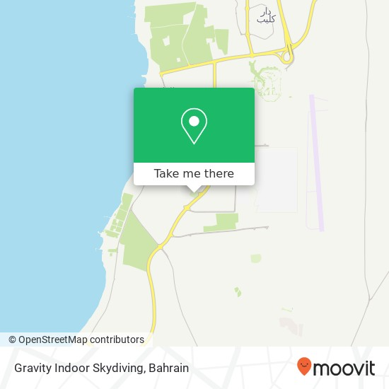 Gravity Indoor Skydiving map