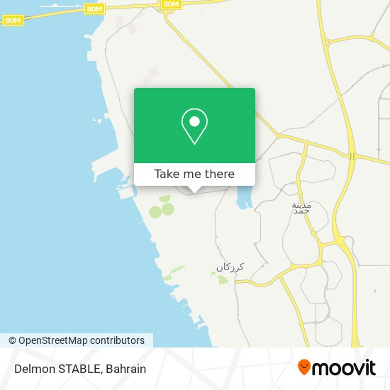 Delmon STABLE map