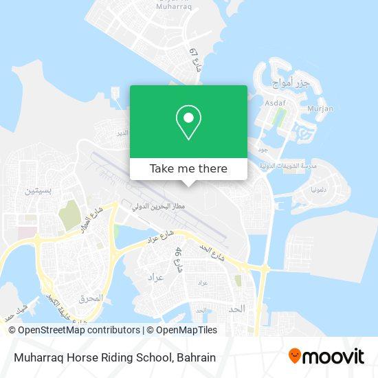 Muharraq Horse Riding School map