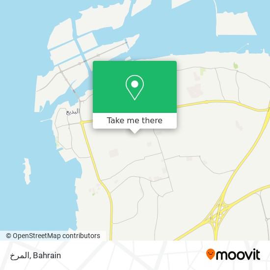 المرخ map