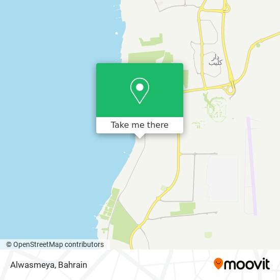 Alwasmeya map