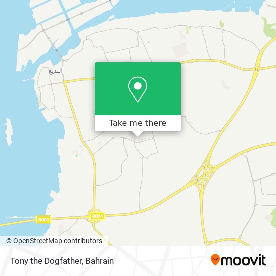 Tony the Dogfather map