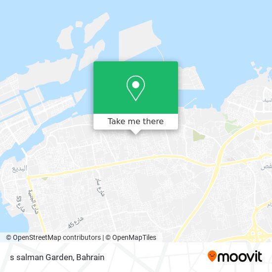 s salman Garden map