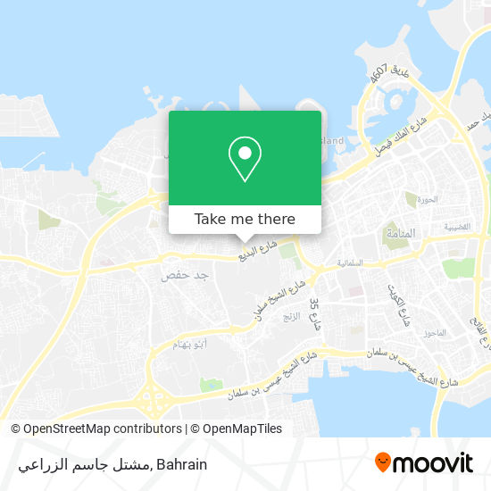 مشتل جاسم الزراعي map