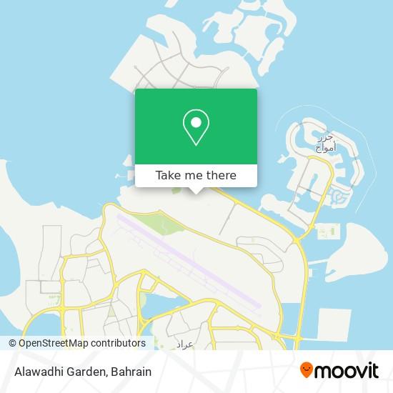 Alawadhi Garden map