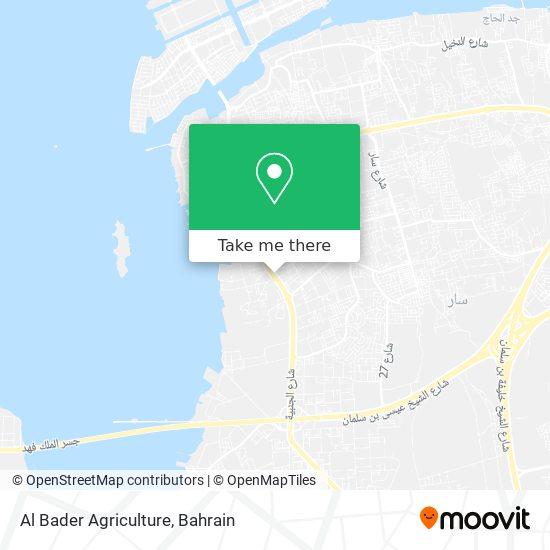 Al Bader Agriculture map