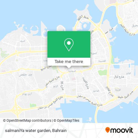 salmaniYa water garden map