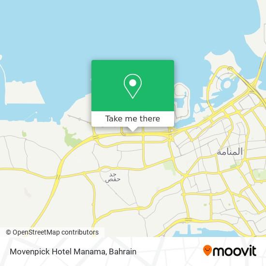 Movenpick Hotel Manama map