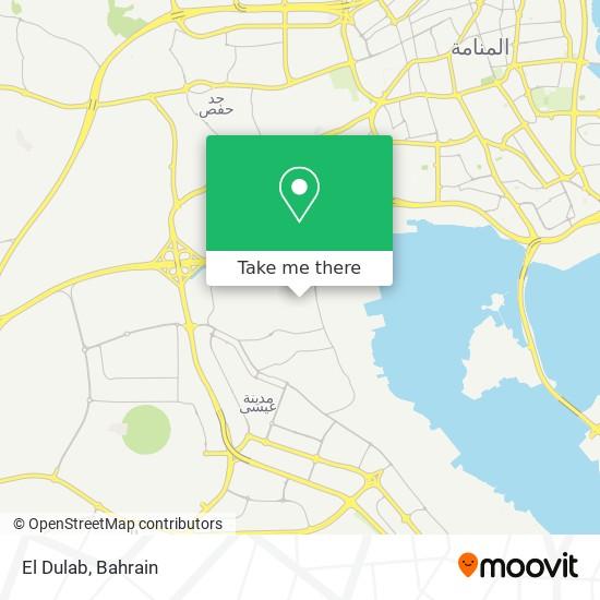 El Dulab map