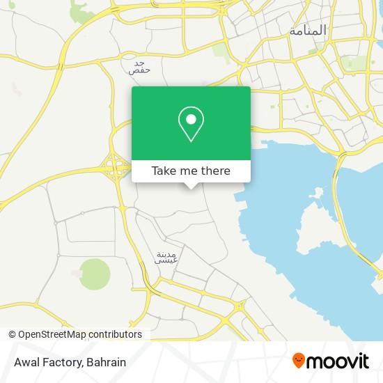 Awal Factory map
