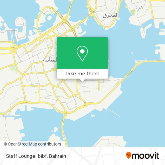 Staff Lounge- bibf map