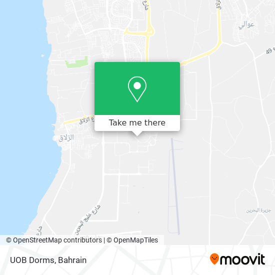 UOB Dorms map