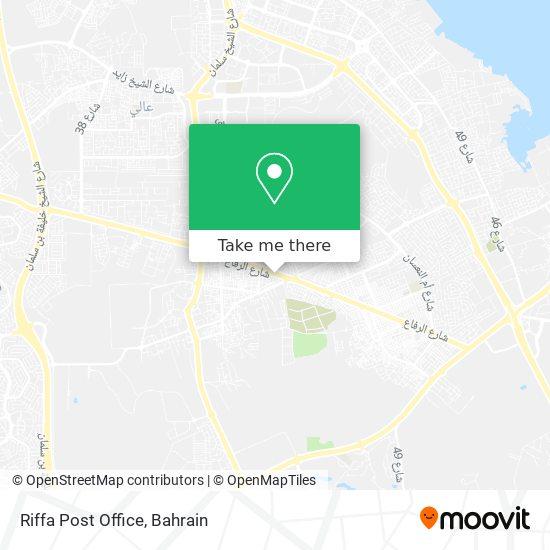 Riffa Post Office map