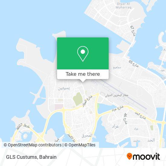 GLS Custums map