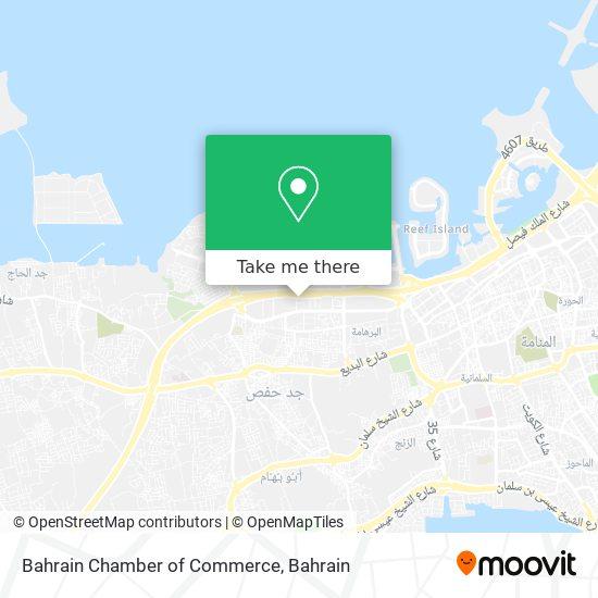 Bahrain Chamber of Commerce map