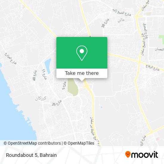 Roundabout 5 map