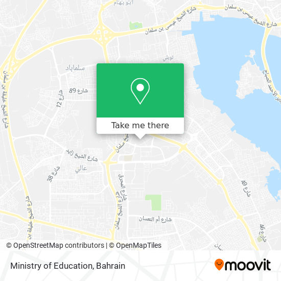 Ministry of Education map
