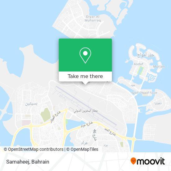 Samaheej map