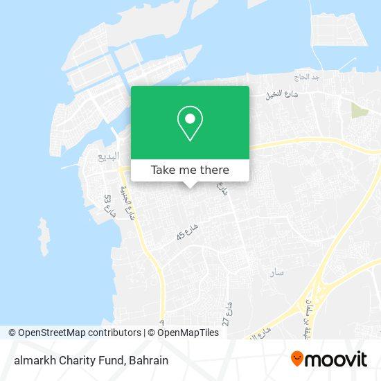 almarkh Charity Fund map