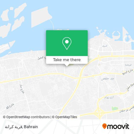 قرية كرانة map