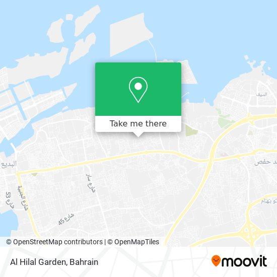 Al Hilal Garden map