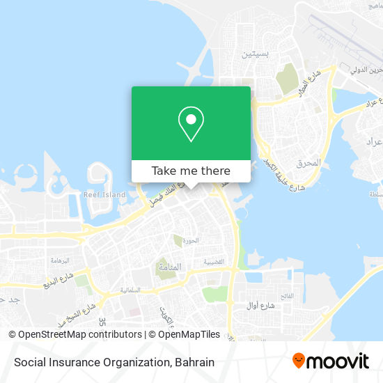 Social Insurance Organization map