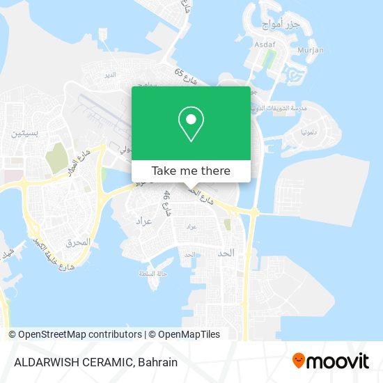 ALDARWISH CERAMIC map