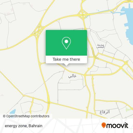 energy zone map