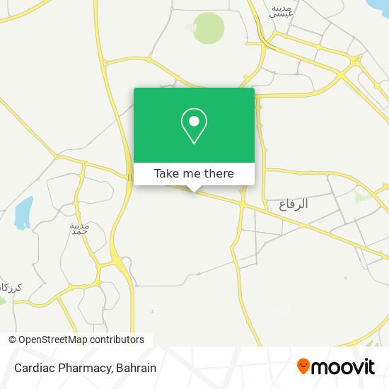 Cardiac Pharmacy map