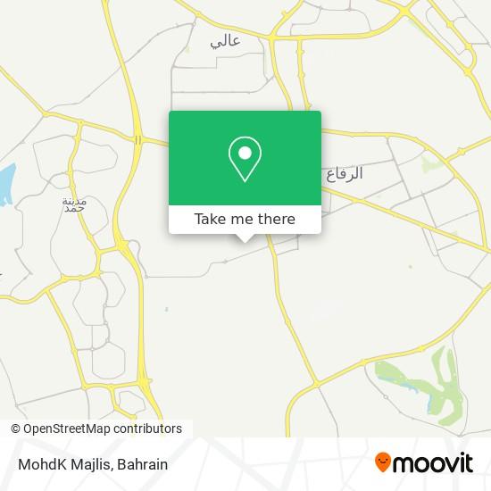 MohdK Majlis map