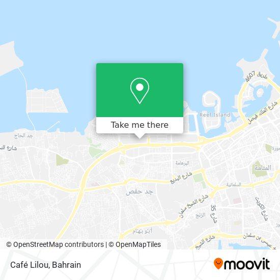 Café Lilou map