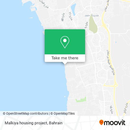 Malkiya housing project map