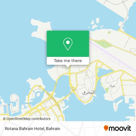 Rotana Bahrain Hotel map