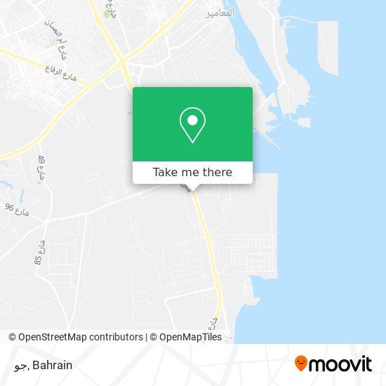جو map