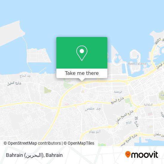 Bahrain (البحرين) map