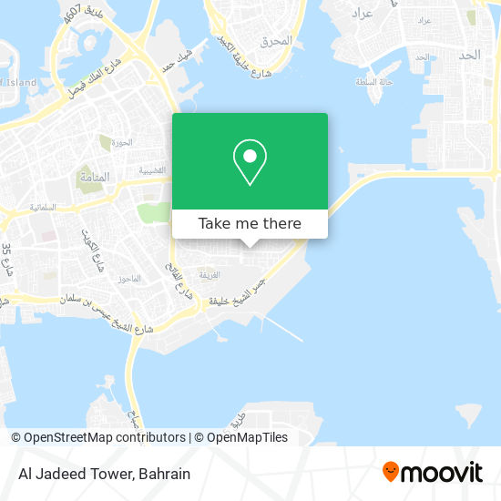 Al Jadeed Tower map